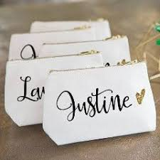 bridal party makeup bags personalized makeup bag bridal makeup and bag