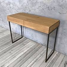 Industrial Console Table Industrial Console Table With Drawers Cosywood Co Uk