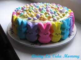 Easter Cakes Decorated With Peeps by 20 Things To Make With Peeps How Does She