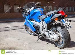 bmw sport motorcycle bmw k1200 s indigo blue sport motorcycle editorial image image