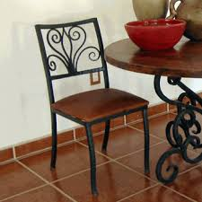Rod Iron Dining Chairs Wrought Iron Dining Chairs