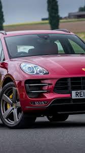 Porsche Macan Red - porsche macan turbo red front view wallpaper cars wallpaper
