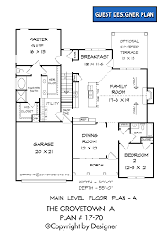 First Floor Bedroom House Plans Grovetown A House Plan House Plans By Garrell Associates Inc