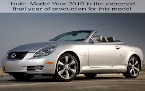 lexus used convertible 2010 lexus sc 430 information and photos zombiedrive