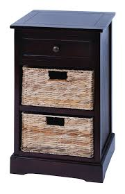 modern cabinet with 2 wicker baskets beautiful master bedrooms