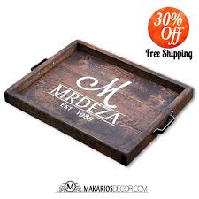 Wooden Serving Trays For Ottomans by Amazon Com Tray Serving Tray Ottoman Tray Metal Tray Coffee