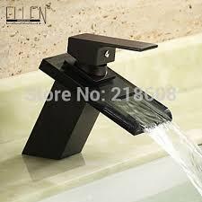 black vessel sink faucet vessel sink faucets oil rubbed bronze bathroom faucet waterfall