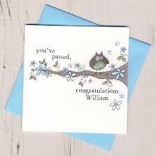 personalised congratulations card by eggbert