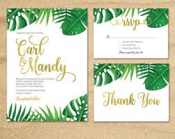 tropical wedding invitations tropical wedding invitation tropical palm leaves invite wedding