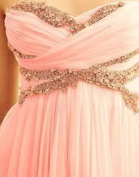 coral and gold bridesmaid dresses dress pink dress strapless sequins sequin dress sequin prom
