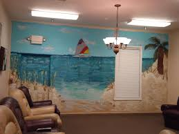 tropical beach wall murals best decor things beach scene wall murals