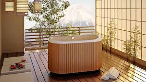 japanese home decor that you could use to create asian style home if that is too difficult then you can really make a small swimming pool inside your bathroom do not forget to add wood element on the wall and flooring as