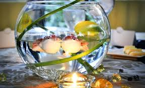 fish bowl centerpieces flowers for fish bowl centerpieces fish and flower decor gardening