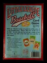 little league baseball card game international playthings iplay ebay