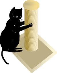 Cool Cat Scratchers Scratching Cat Cliparts Free Download Clip Art Free Clip Art