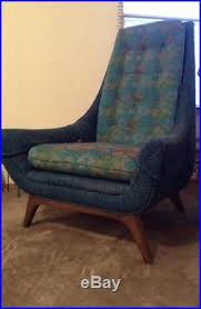 vintage mid century gondola couch sofa u0026 gondola high back chair