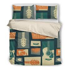 Guitar Duvet Cover Bedding Need Those Sneakers