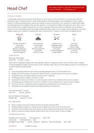 lead cook resume sample head chef resume 7 head cook resume sample