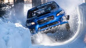 subaru rally snow subaru bobsled run driving a subaru wrx sti down the world u0027s