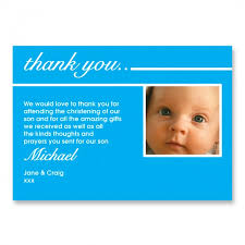 christening thank you card thank you cards babies