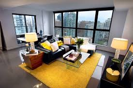 Modern Yellow Rug Blue And Yellow Area Rug Living Room Modern With Table L Black
