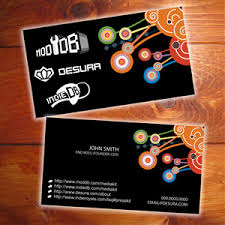 Measurement Of Business Card Professional Practice Business Card Research And Development