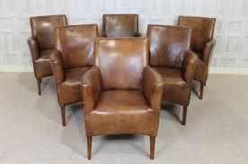 Leather Club Armchair 20 Photos Vintage Leather Armchairs