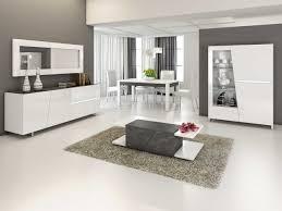 Dressoir Blanc Laque by Indogate Com Table Salle A Manger Gris Clair