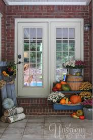 Home Decoration With Plants by Fall Porch Decor With Plants And Pumpkins Unskinny Boppy