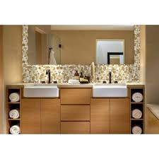 Mirror Wall Bathroom Wholesale Shaped Mosaic Collection Mixed Porcelain