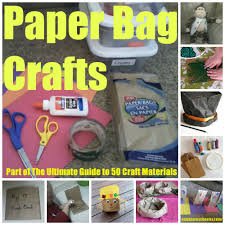 paper bag crafts suzy homeschooler
