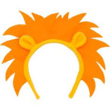 tiger headband lion ears clipart clipartxtras