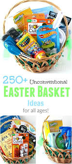 basket ideas 250 easter basket ideas for all ages