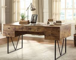 coaster fine furniture writing desk furniture coaster salvaged cabin writing desk with 4 drawers