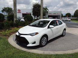 toyota stock symbol 2017 used toyota corolla le cvt automatic at royal palm toyota