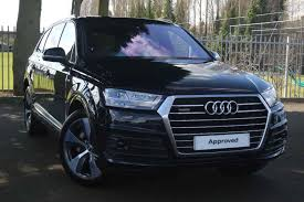 Audi Q7 Night Black - audi q7 night edition supercars of yorkshire