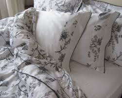 black and white turkish cotton bedding set lovely bed linen