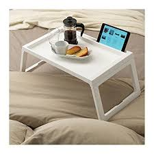 breakfast in bed table white breakfast in bed tray amazon co uk kitchen home
