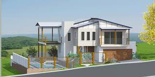 Sloping Lot House Plans Plum Myrtle Sloping House Plans Free Custom Home Design