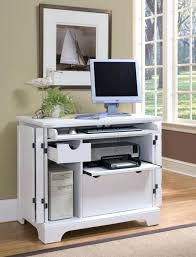 Small Laptop And Printer Desk Computer Table Tower Sturdy Mobile Desk With Printer Shelf New