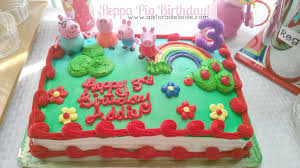 peppa pig cake ideas peppa pig 3rd birthday a is for adelaide and