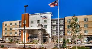 Four Flags Area Credit Union Hotel In Yukon Ok Near Route 66 Fairfield Inn U0026 Suites
