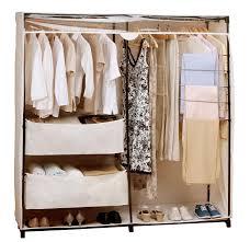 Honey Can Do 60 Double Door Storage Closet by Rubbermaid 60 Garment Closet Amazon Roselawnlutheran