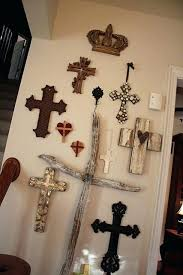 wall decor crosses wall crosses decor turquoise and cast iron decorative wall