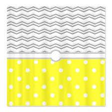 Grey And White Polka Dot Curtains Makanahele Com Category Polka Dot Shower Curtains
