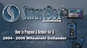 how to program a remote to a 2004 2006 mitsubishi outlander
