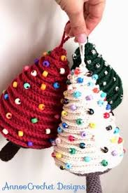Free Christmas Decorations Christmas Crochet Ornaments With Free Patterns Ornament