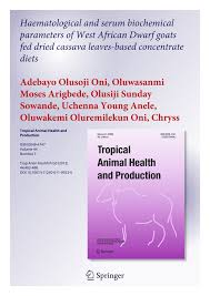 haematological and serum biochemical parameters of west african