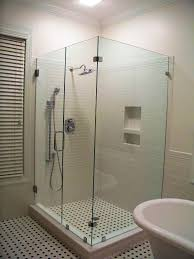 Glass Block Designs For Bathrooms by Bathroom Glass Mosaic Wall Tile Large White Tile Shower Lowes