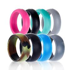 Workout Wedding Rings by Kauai Silicone Wedding Ring Designed For Comfort Fitness